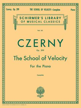 Schirmer Library of Classics Volume 161 (Piano Technique) (HL-50253140)