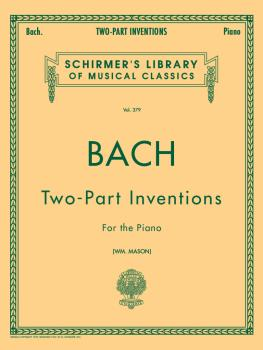 15 Two-Part Inventions (Mason) Schirmer Library of Classics Volume 379 (HL-50254610)