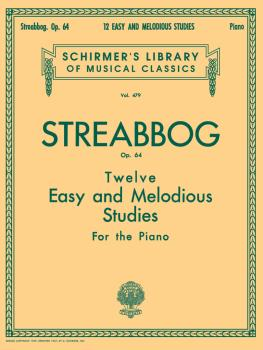 12 Easy and Melodious Studies, Op. 64 (Grade 2): Schirmer Library of C (HL-50255200)