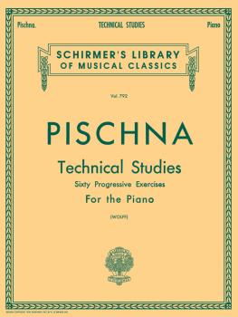 Pischna - Technical Studies (60 Progressive Exercises) Schirmer Librar (HL-50256370)