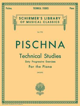 Pischna - Technical Studies (60 Progressive Exercises) Schirmer Librar (HL-50256370)