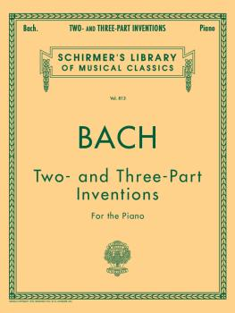 15 Two- and Three-Part Inventions: Schirmer's Library of Musical Class (HL-50256470)