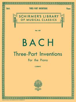 15 Three-Part Inventions (Schirmer Library of Classics Volume 851 Pian (HL-50256690)
