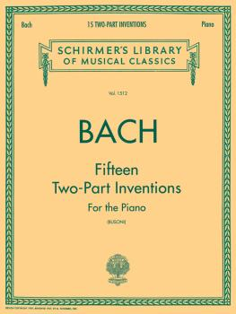 15 Two-Part Inventions (Busoni): Piano Solo, arr. Busoni (HL-50259790)