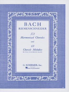371 Harmonized Chorales and 69 Chorale Melodies with Figured Bass (Pia (HL-50327600)