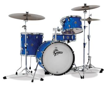 Gretsch Catalina Club 4 Piece Kit (18/12/14/14SN) (Blue Swirl) (HL-00777726)