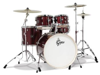 Gretsch Energy 5 Piece Set with Hardware (22/10/12/16/14SN) (Ruby Spar (HL-00777730)
