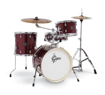 Gretsch Energy 4 Piece Street Kit With Hardware (18/12/14/14SN) (Ruby  (HL-00777731)