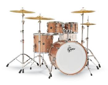 Gretsch Renown2 4 Piece Drum Set (22/10/12/16) (Copper Sparkle) (HL-00777737)