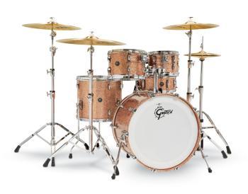 Gretsch Renown2 5 Piece Drum Set (22/10/12/16/5.5x14SN) (Copper Sparkl (HL-00777739)