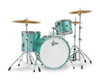 Gretsch Renown2 3 Piece Drum Set (24/13/16) (Turquoise Sparkle) (HL-00777746)