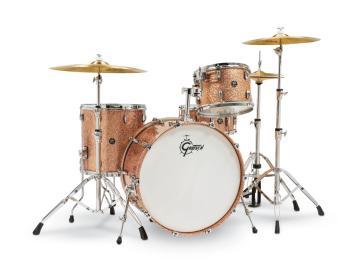 Gretsch Renown2 4 Piece Drum Set (13/16/24/14SN) (Copper Sparkle) (HL-00777747)