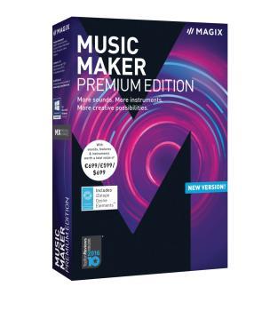 Music Maker Premium: Downloadable Retail Edition (HL-00201968)