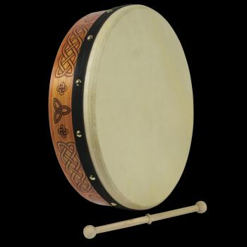 15 inch. Celtic Burn Plain Bodhran (HL-00265068)