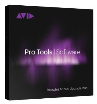 Pro Tools with Annual Upgrade and Support Plan (Card + iLok): 1-Year P (AV-00153544)
