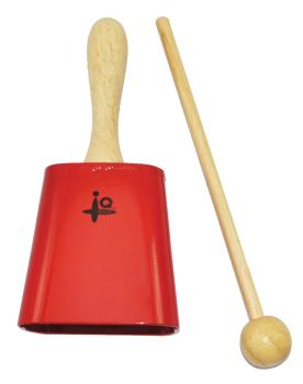 3.5 inch. Cowbell (Red) (HL-00197536)