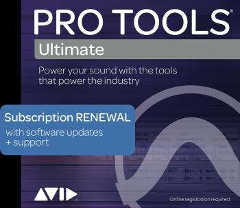 Pro Tools | Ultimate: Annual Subscription Renewal - Boxed Edition (HL-00249809)