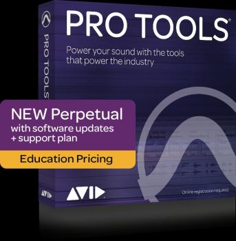 Pro Tools Perpetual License: Activation Card - Student/Teacher Edition (HL-00267663)