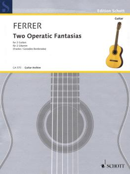 Two Operatic Fantasias (for Two Guitars) (HL-49045766)