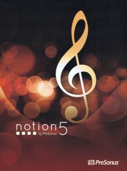 Notion(TM) 5 by PreSonus® (NT-00137598)