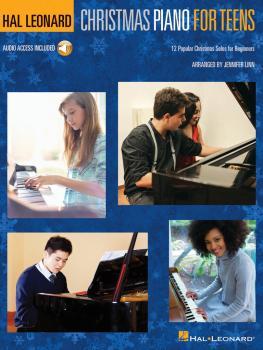 Hal Leonard Christmas Piano for Teens: 12 Popular Christmas Solos for  (HL-00279384)