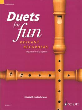 Duets for Fun: Easy Pieces to Play Together 2 Descant Recorders (HL-49046037)