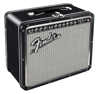 Fender Black Tolex Metal Lunch Box (HL-00121852)