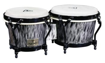 Supremo Select Series Kinetic Steel Finish Bongos: 7 inch. & 8-1/2 inc (HL-00288777)