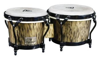 Supremo Select Series Kinetic Gold Finish Bongos: 7 inch. & 8-1/2 inch (HL-00288778)