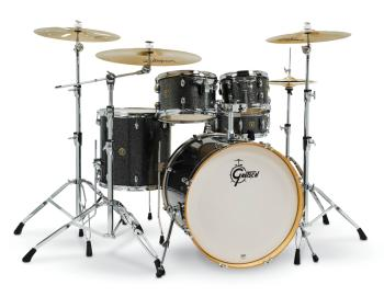 Gretsch Catalina Maple 5 Piece Shell Pack (22/10/12/16/14SN) (Black St (HL-00286446)