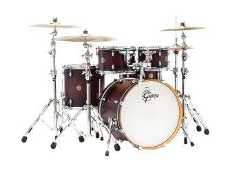 Gretsch Catalina Maple 5 Piece Shell Pack (22/10/12/16/14SN) (Deep Che (HL-00286447)