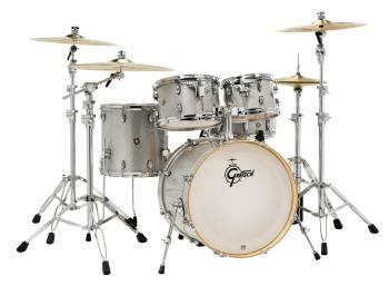 Gretsch Catalina Maple 5 Piece Shell Pack (22/10/12/16/14SN) (Silver S (HL-00286450)