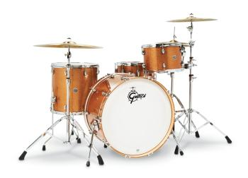 Gretsch Catalina Club 4 Piece Shell Pack (24/13/16/14SN) (Bronze Spark (HL-00286477)