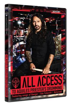 All Access to Aquiles Priester's Drumming (Featuring Songs of Hangar,  (HL-00294038)
