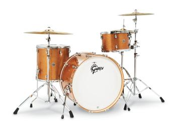 Gretsch Catalina Club 3 Piece Shell Pack (24/13/16) (Bronze Sparkle) (HL-00286478)
