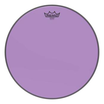 Emperor® Colortone(TM) Purple Drumhead: Tom Batter 15 inch. Model (HL-03701759)