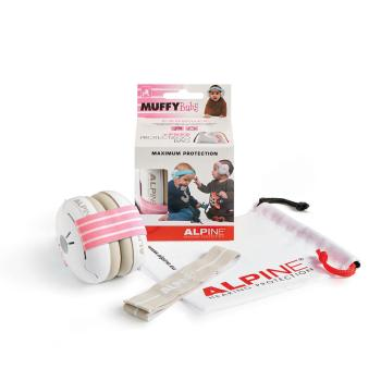 Muffy Baby: Protective Headphones - Pink (HL-00292216)