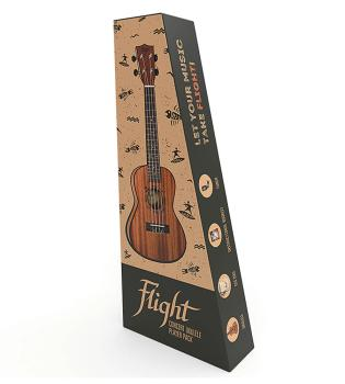 Flight NUC310 Concert Ukulele Pack (HL-03715046)