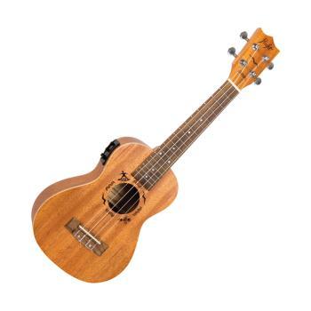 Flight DUC523CEQ Mahogany Electro-Acoustic Concert Ukulele (HL-03715013)
