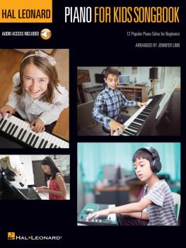 Hal Leonard Piano for Kids Songbook: 12 Popular Piano Solos for Beginn (HL-00217215)
