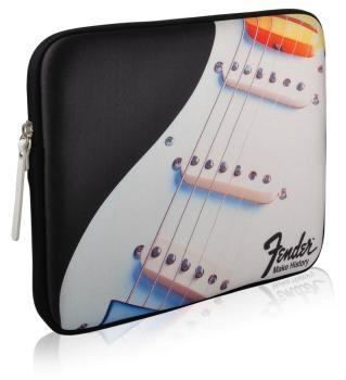 Fender iPad Protective Zippered Black Strat Sleeve (HL-00102870)