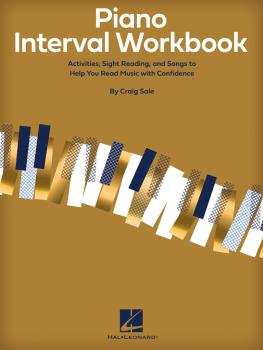 Piano Interval Workbook: Activities, Sight Reading, and Songs to Help  (HL-00295553)
