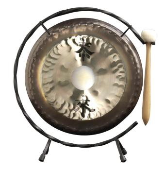 10 Deco Gong Set Floor Stand (HL-03710692)