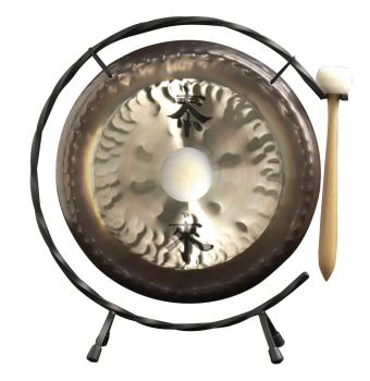 13 Deco Gong Set Floor Stand (HL-03710693)