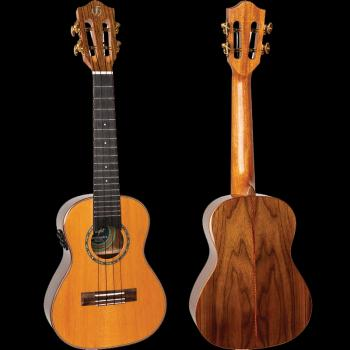 Diana Concert Electro-Acoustic Ukulele: Princess Series with Soundwave (HL-00346418)