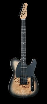 Triple 50 Black Burl Electric Guitar (HL-00347990)
