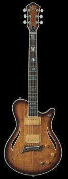 Hybrid Special Spalted Maple Burst Electric Guitar (HL-00348014)
