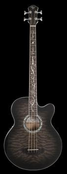 Dragonfly 4 Smoke Burst Acoustic Bass: Smoke Burst Acoustic Bass (HL-00348025)