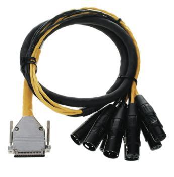 DB25 XLR M+F AES/EBU DigiSnake 4' (HL-00119277)
