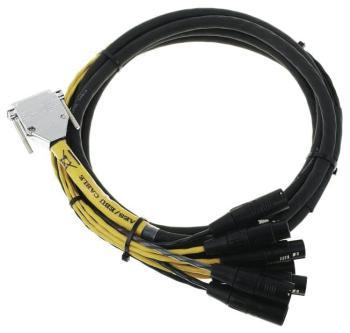 DB25-XLR M+F AES/EBU Digisnake 12' (HL-00119314)